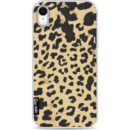 Casetastic Softcover Apple iPhone XR - Leopard Print Sand