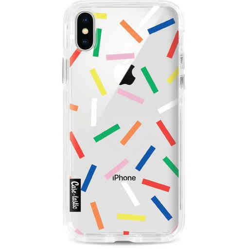 Casetastic Dual Snap Case Apple iPhone X / XS - Sprinkles