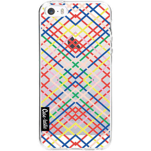 Casetastic Softcover Apple iPhone 5 / 5s / SE - Weave Pattern