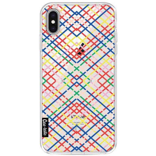 Casetastic Softcover Apple iPhone XS Max - Weave Pattern