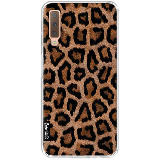 Casetastic Softcover Samsung Galaxy A7 (2018) - Leopard