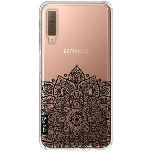 Casetastic Softcover Samsung Galaxy A7 (2018) - Floral Mandala