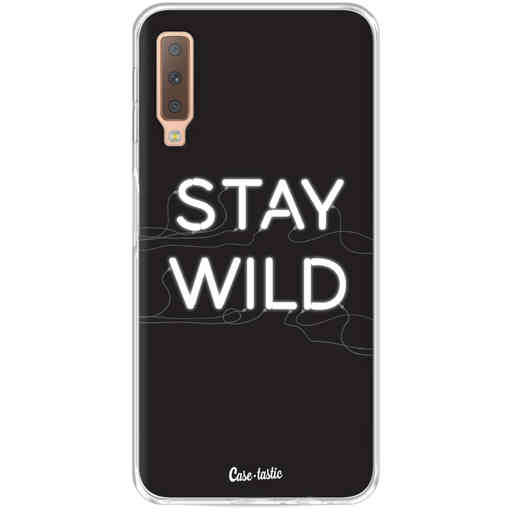 Casetastic Softcover Samsung Galaxy A7 (2018) - Stay Wild Neon