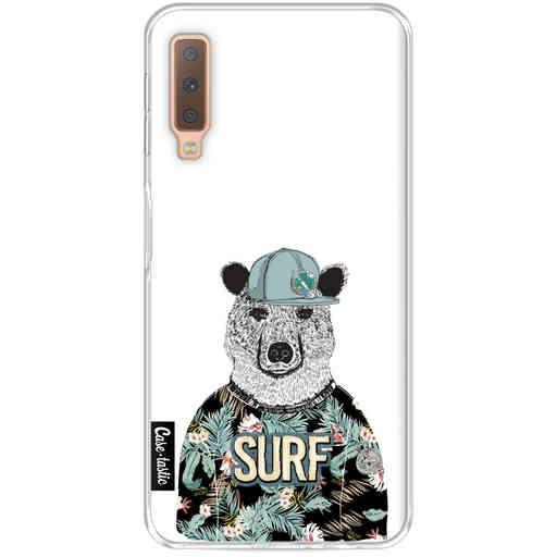 Casetastic Softcover Samsung Galaxy A7 (2018) - Surf Bear