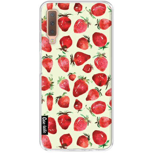 Casetastic Softcover Samsung Galaxy A7 (2018) - Strawberry