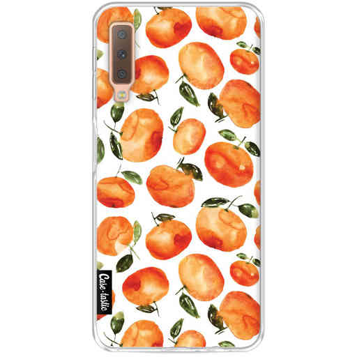 Casetastic Softcover Samsung Galaxy A7 (2018) - Tangerines