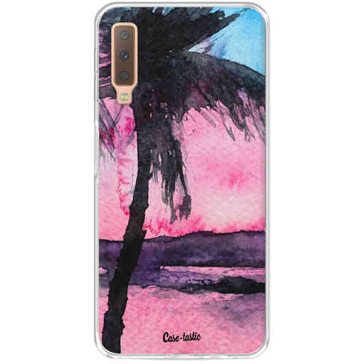 Casetastic Softcover Samsung Galaxy A7 (2018) - Tropical Sunset