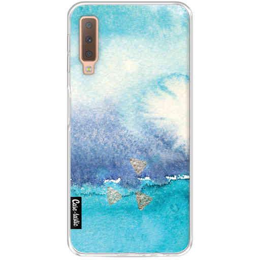 Casetastic Softcover Samsung Galaxy A7 (2018) - Vibrant Horizon