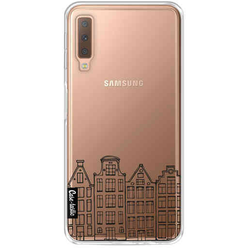 Casetastic Softcover Samsung Galaxy A7 (2018) - Amsterdam Canal Houses