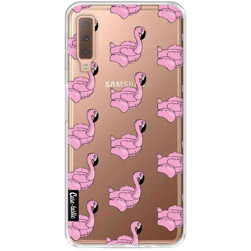 Casetastic Softcover Samsung Galaxy A7 (2018) - Inflatable Flamingo