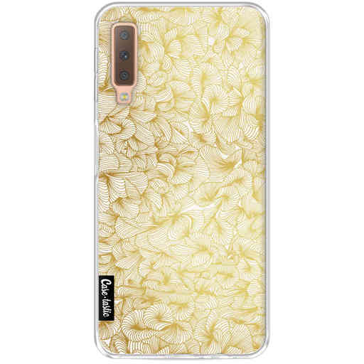 Casetastic Softcover Samsung Galaxy A7 (2018) - Abstract Pattern Gold