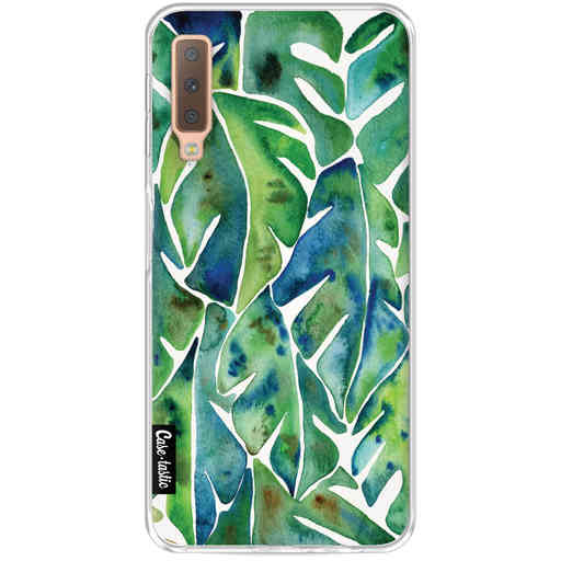 Casetastic Softcover Samsung Galaxy A7 (2018) - Green Philodendron