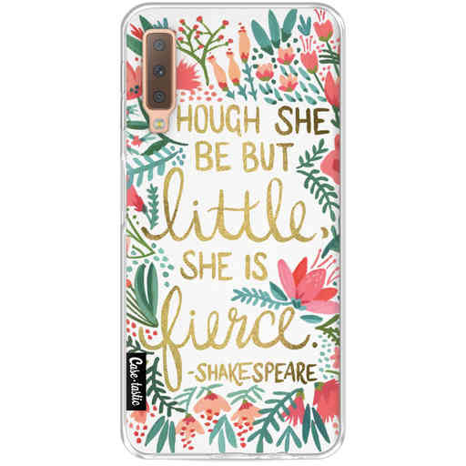 Casetastic Softcover Samsung Galaxy A7 (2018) - Little Fierce White