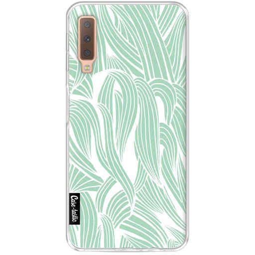 Casetastic Softcover Samsung Galaxy A7 (2018) - Seam Foam Organic Print