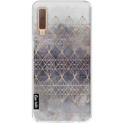 Casetastic Softcover Samsung Galaxy A7 (2018) - Cold Diamonds
