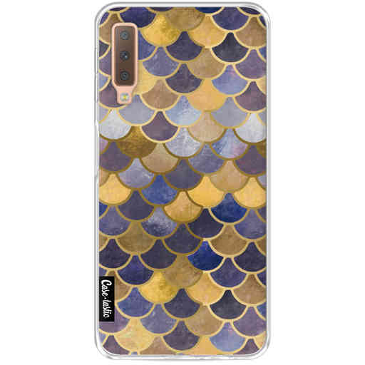 Casetastic Softcover Samsung Galaxy A7 (2018) - Sapphire Scales