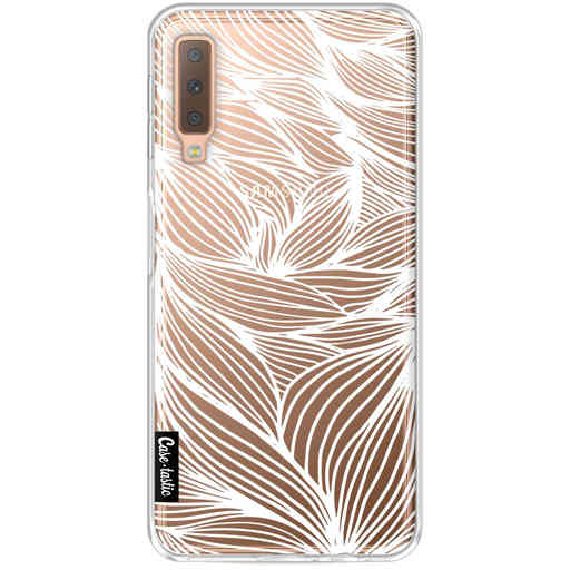 Casetastic Softcover Samsung Galaxy A7 (2018) - Wavy Outlines