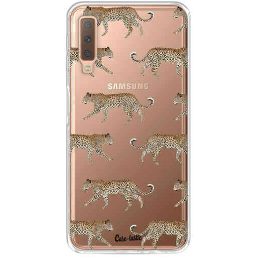 Casetastic Softcover Samsung Galaxy A7 (2018) - Hunting Leopard