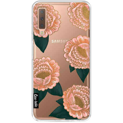 Casetastic Softcover Samsung Galaxy A7 (2018) - Winterly Flowers