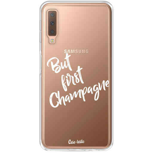 Casetastic Softcover Samsung Galaxy A7 (2018) - But First Champagne