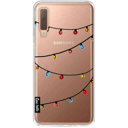 Casetastic Softcover Samsung Galaxy A7 (2018) - Christmas Lights