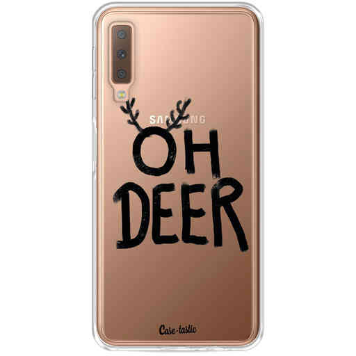 Casetastic Softcover Samsung Galaxy A7 (2018) - Oh Deer