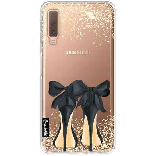 Casetastic Softcover Samsung Galaxy A7 (2018) - Sparkling Shoes