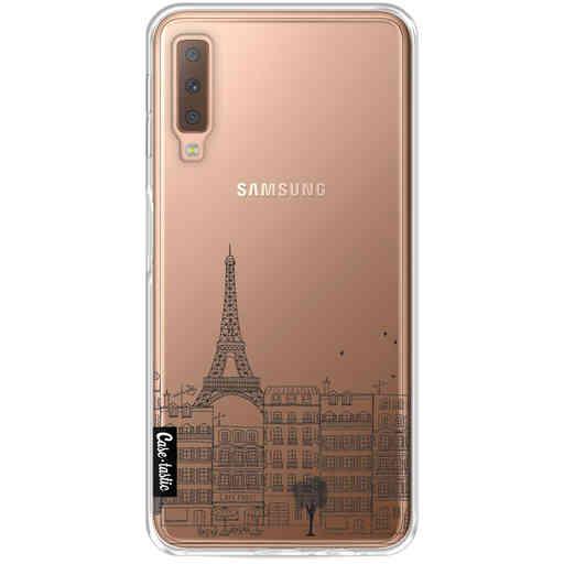 Casetastic Softcover Samsung Galaxy A7 (2018) - Paris City Houses