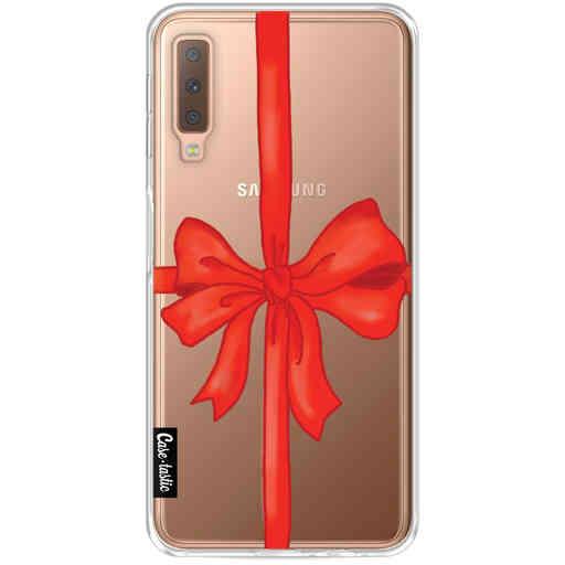 Casetastic Softcover Samsung Galaxy A7 (2018) - Christmas Ribbon