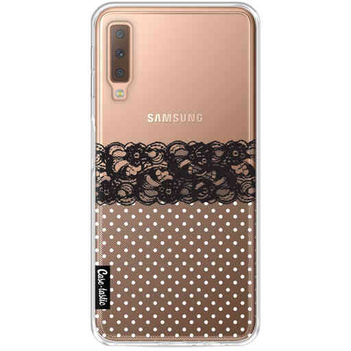 Casetastic Softcover Samsung Galaxy A7 (2018) - Lace and Polkadots