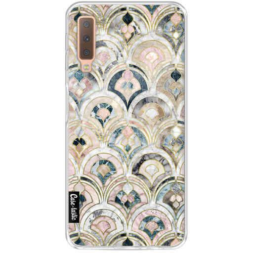Casetastic Softcover Samsung Galaxy A7 (2018) - Art Deco Marble Tiles