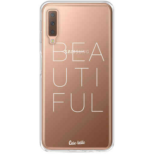 Casetastic Softcover Samsung Galaxy A7 (2018) - Beautiful