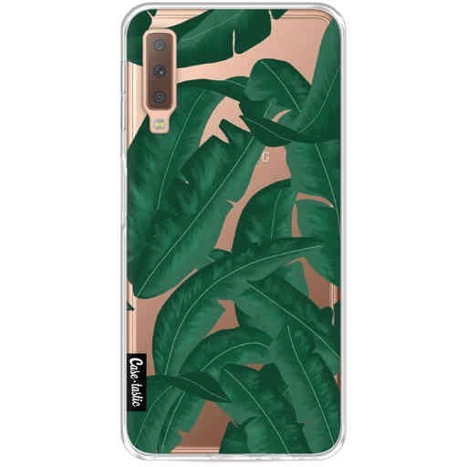 Casetastic Softcover Samsung Galaxy A7 (2018) - Banana Leaves