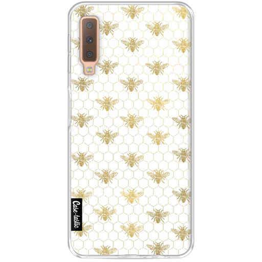 Casetastic Softcover Samsung Galaxy A7 (2018) - Golden Honey Bee