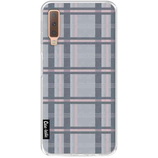 Casetastic Softcover Samsung Galaxy A7 (2018) - Grey Tartan