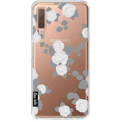 Casetastic Softcover Samsung Galaxy A7 (2018) - Grey Roses