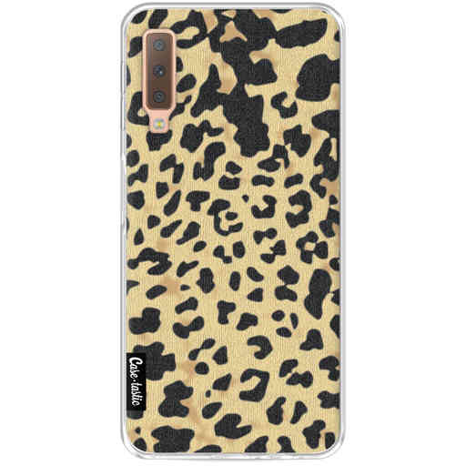 Casetastic Softcover Samsung Galaxy A7 (2018) - Leopard Print Sand