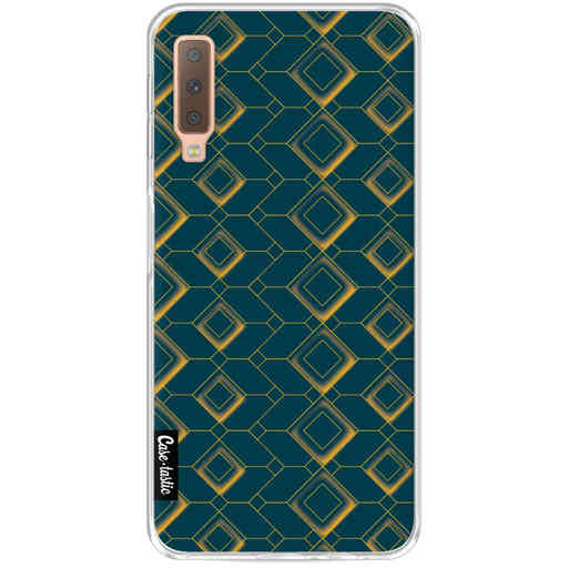 Casetastic Softcover Samsung Galaxy A7 (2018) - Abstract Cubes