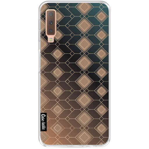 Casetastic Softcover Samsung Galaxy A7 (2018) - Abstract Diamonds