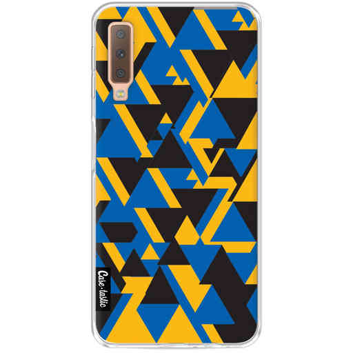 Casetastic Softcover Samsung Galaxy A7 (2018) - Mixed Triangles