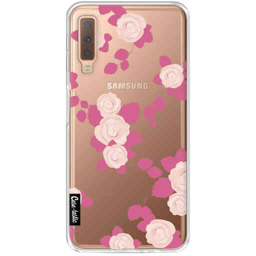 Casetastic Softcover Samsung Galaxy A7 (2018) - Pink Roses