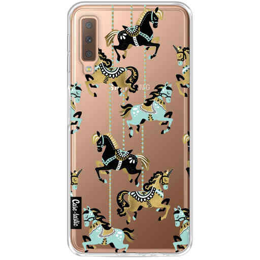 Casetastic Softcover Samsung Galaxy A7 (2018) - Carousel Horses