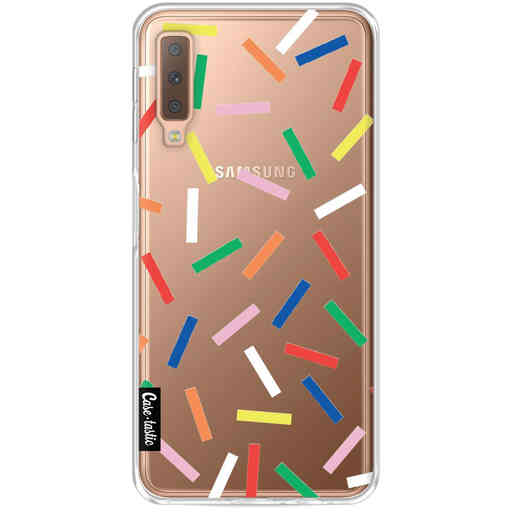 Casetastic Softcover Samsung Galaxy A7 (2018) - Sprinkles