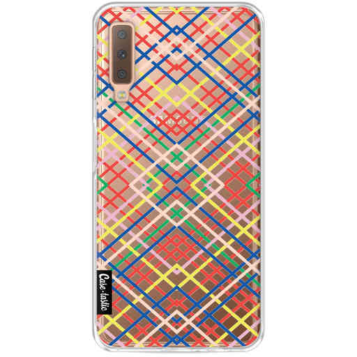 Casetastic Softcover Samsung Galaxy A7 (2018) - Weave Pattern