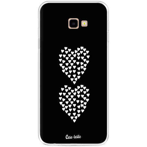 Casetastic Softcover Samsung Galaxy J4 Plus (2018) - Hearts Heart 2 Black
