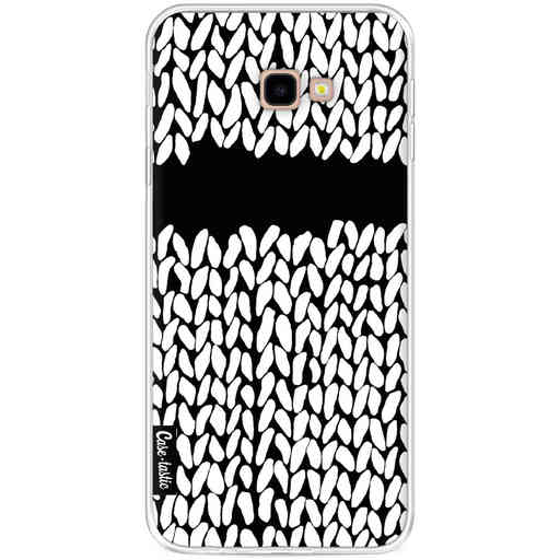 Casetastic Softcover Samsung Galaxy J4 Plus (2018) - Missing Knit Black