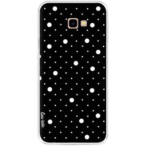 Casetastic Softcover Samsung Galaxy J4 Plus (2018) - Pin Points Polka Black