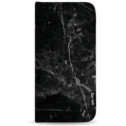 Casetastic Wallet Case Black Samsung Galaxy A7 (2018) - Black Marble