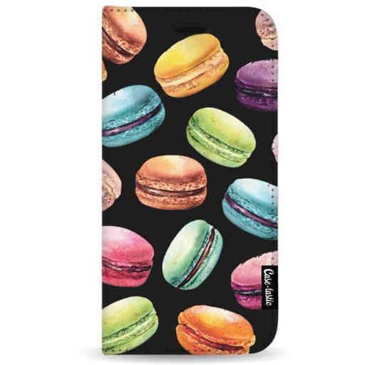 Casetastic Wallet Case Black Samsung Galaxy A7 (2018) - Macaron Mania