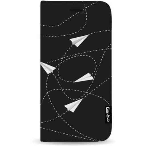 Casetastic Wallet Case Black Samsung Galaxy A7 (2018) - Paperplanes